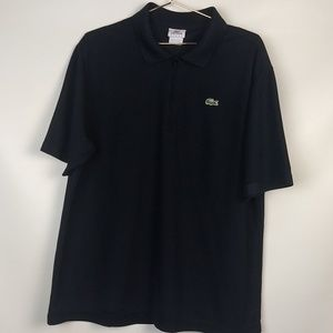 Lecoste Sport 1/4 Zip Polo Shirt size 6-Large